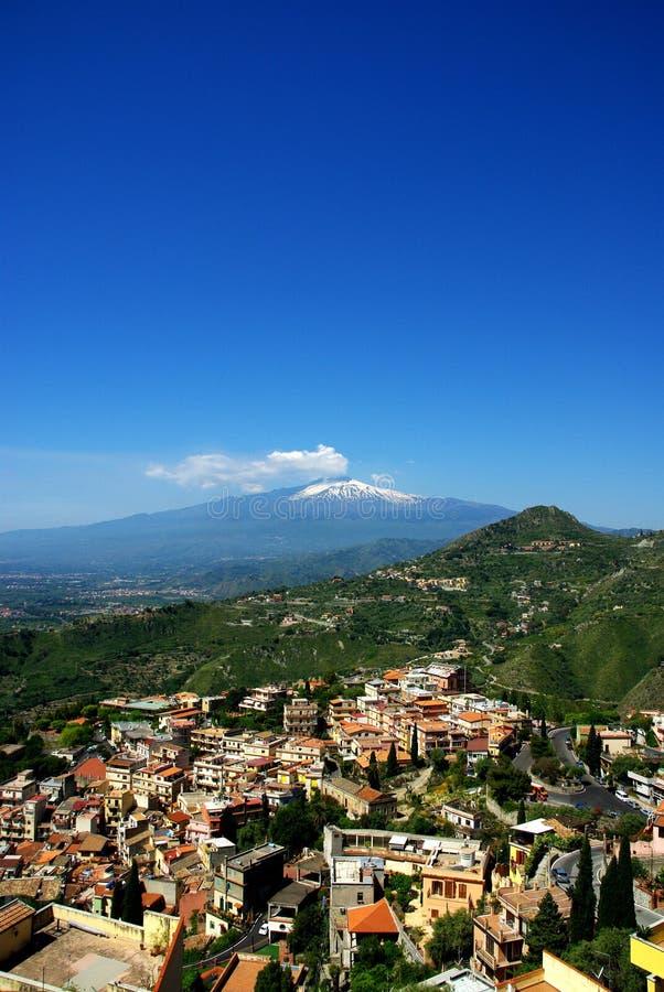 Mt Etna fotos de stock