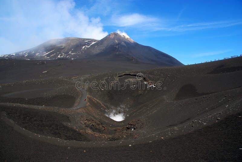 Mt Etna fotografia de stock royalty free