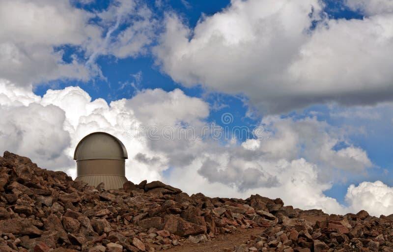 Mt Evans Astromomical Science Observatory lizenzfreie stockbilder