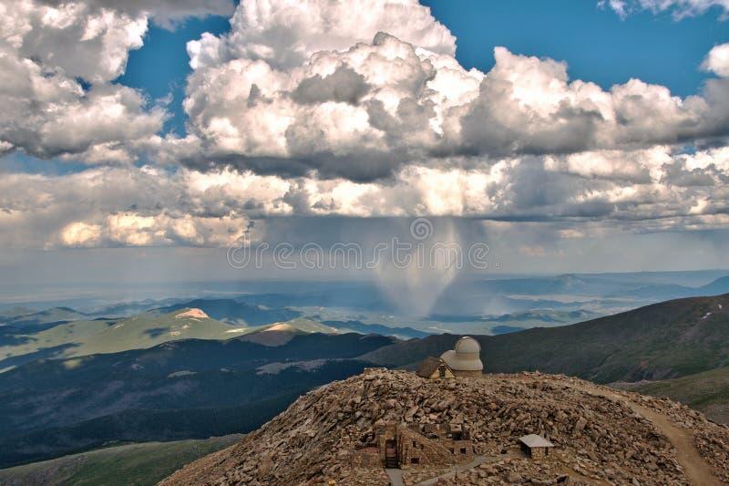 Mt Evans Astromomical Science Observatory lizenzfreies stockbild