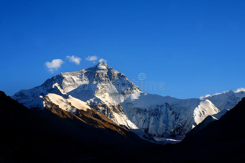 Mt. Everest royalty-vrije stock foto