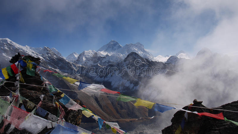 Mt Everest stock photography