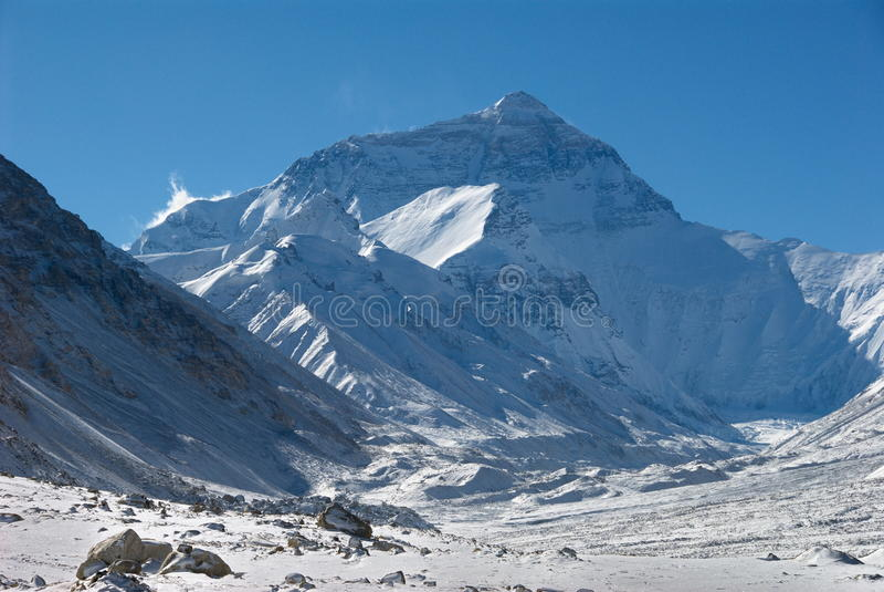 Mt. Everest foto de archivo libre de regalías