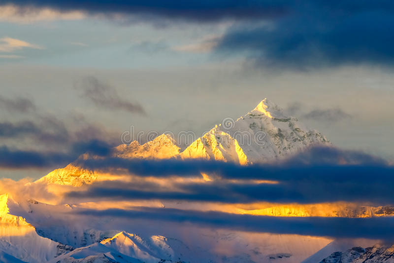 Mt everest fotos de archivo