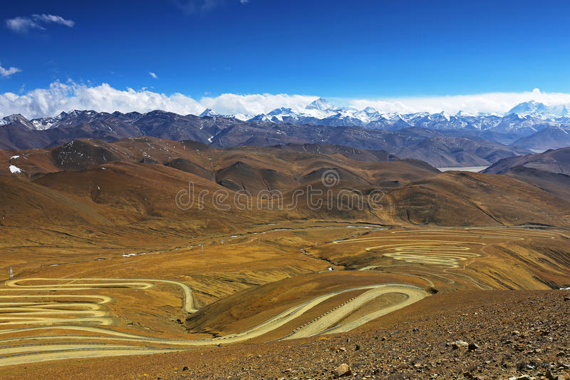 Download Mt. Everest And Flannelette Temple Stock Image - Image of rongbuk, 8848: 33546799