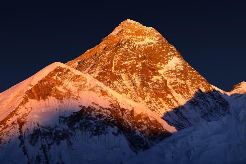 Mt. Everest royalty free stock photos