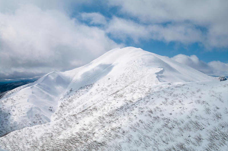 Mt Feathertop stock photo