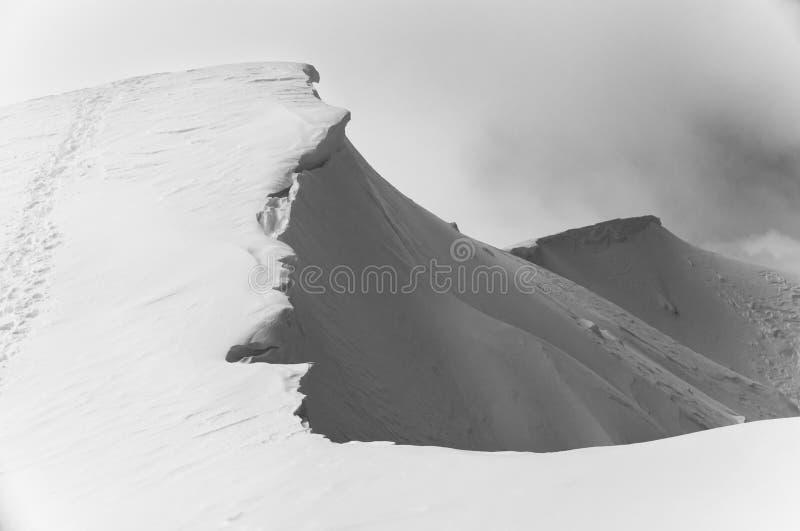 Mt Feathertop imagens de stock royalty free