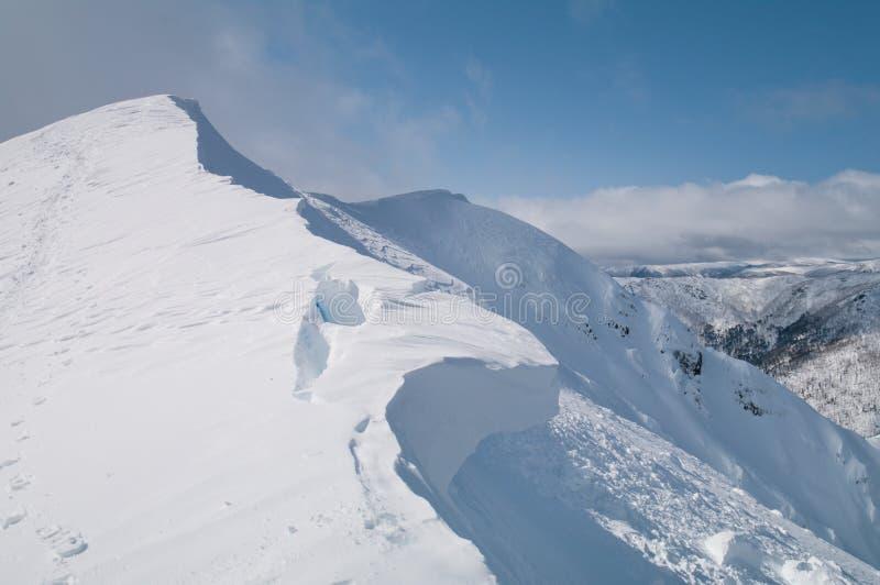 Mt Feathertop foto de stock