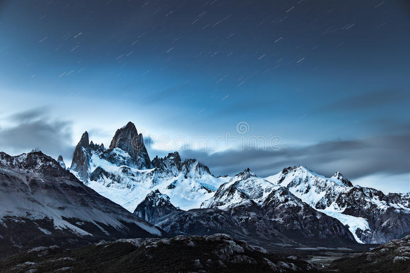 Mt fitzroy lizenzfreies stockbild