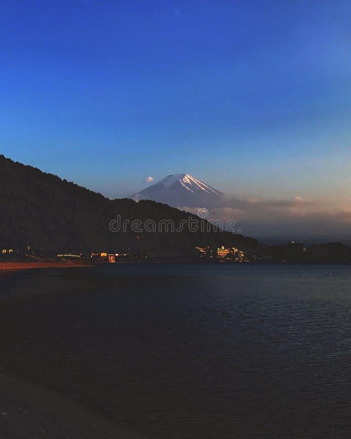 Mt fuji arkivbild