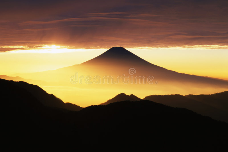Mt fuji-402 royalty free stock photo