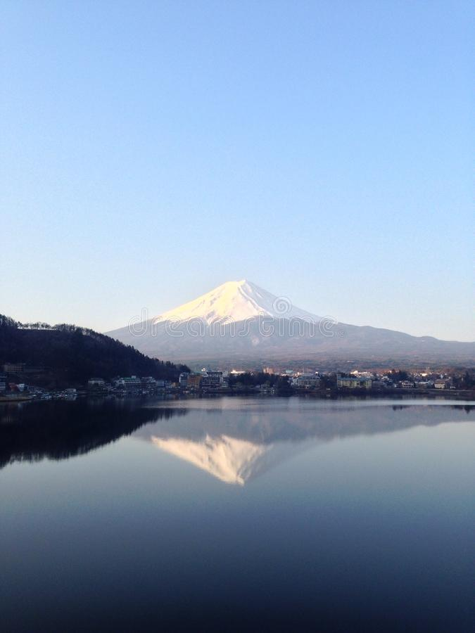 Mt fuji photographie stock