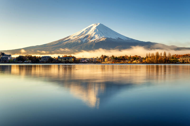 Mt fuji стоковое изображение rf