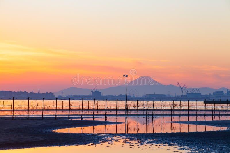 Download Mt fuji photo stock. Image du crépuscule, nature, neige - 87701712