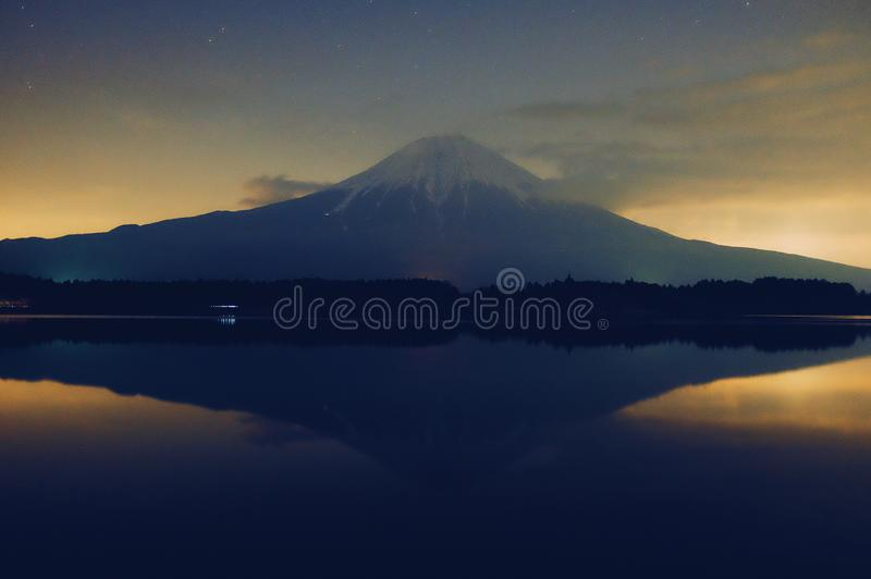 Mt fuji royaltyfria foton