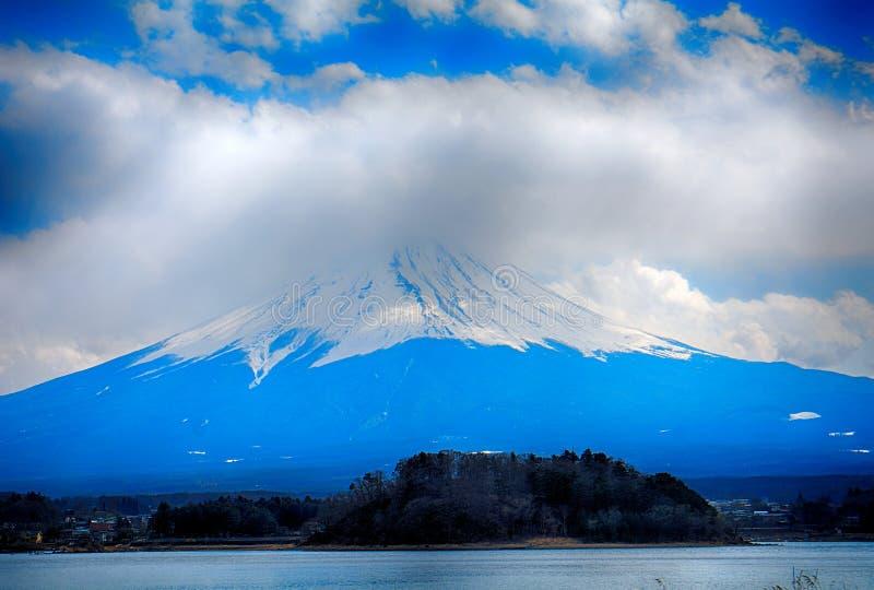 Mt Fuji au lac parc national de Kawaguchi, Fuji-Hakone-Izu, Japon photographie stock