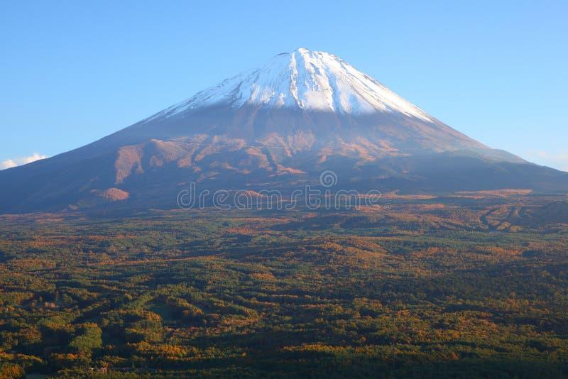 Mt. Fuji in de herfst stock foto