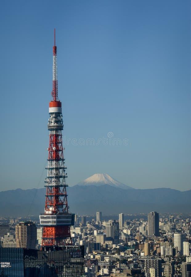 Mt Fuji de Tokio fotos de archivo libres de regalías