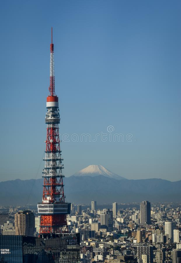 Mt Fuji de Tokyo photos libres de droits