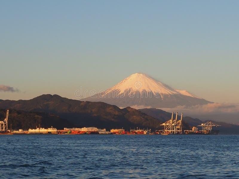 Mt. Fuji from Shizuoka, Japan royalty free stock images