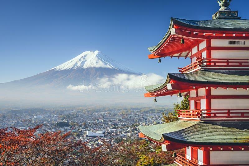 Mt Fuji, Giappone fotografia stock