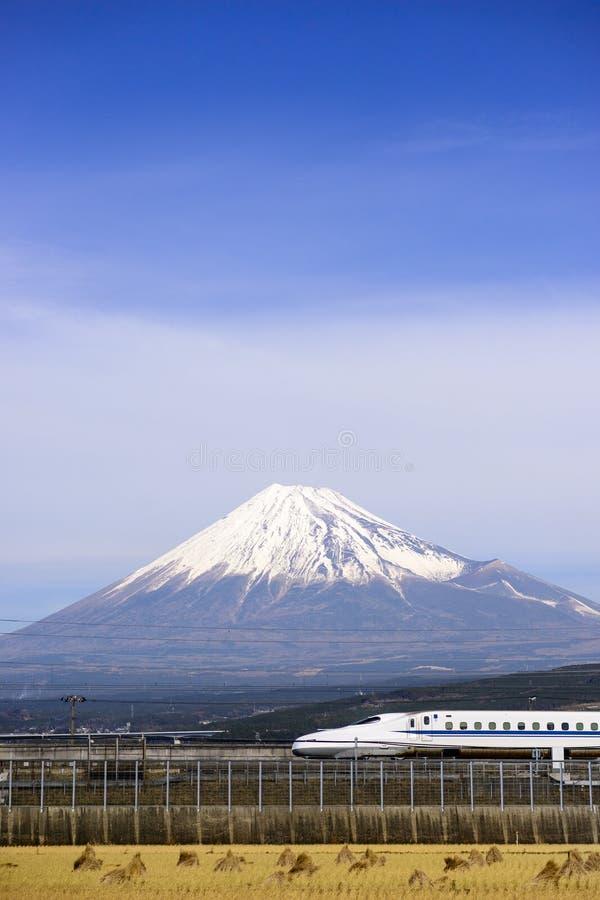 Mt Fuji i Japan arkivbild