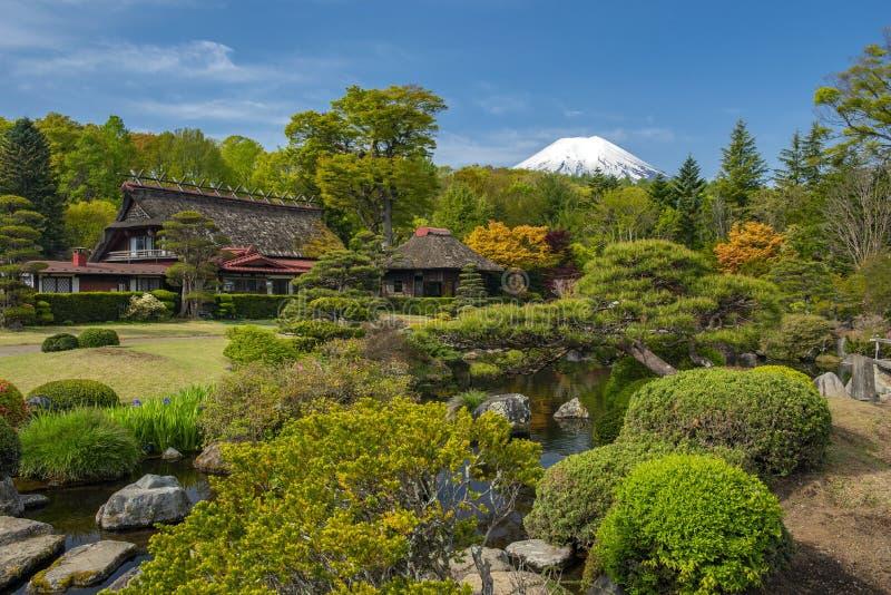 Mt Fuji i ottan royaltyfri bild