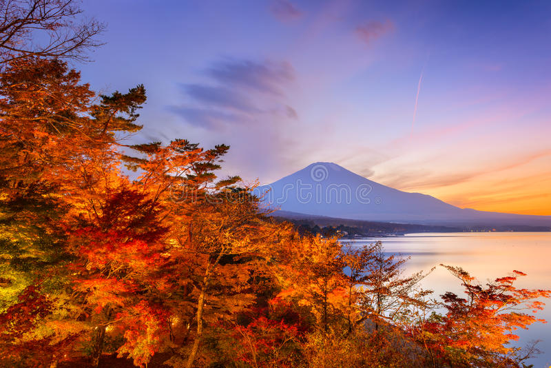 Mt. Fuji Japan stock photo