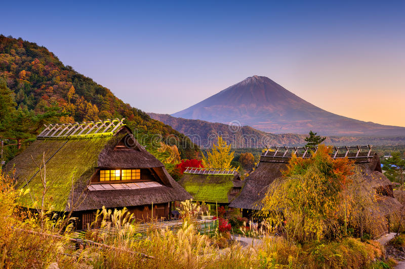 Mt. Fuji, Japan stock photos