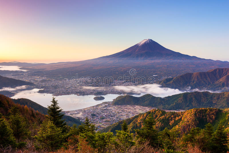 Mt. Fuji Japan royalty free stock photography