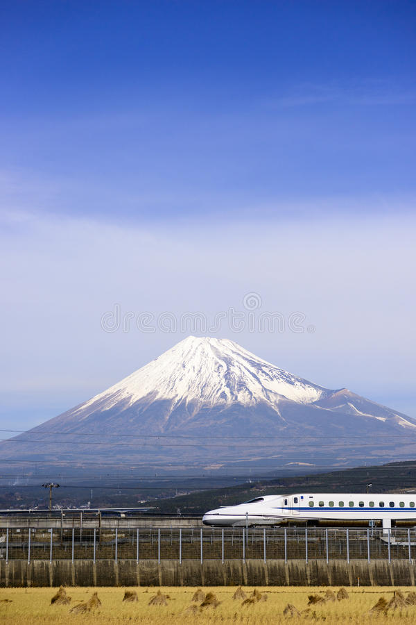 Mt. Fuji in Japan. stock photography