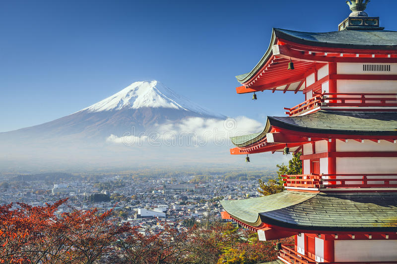 Mt. Fuji, Japan stock photo