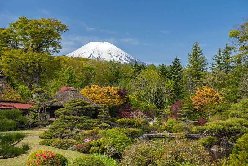 Mt Fuji no amanhecer imagens de stock