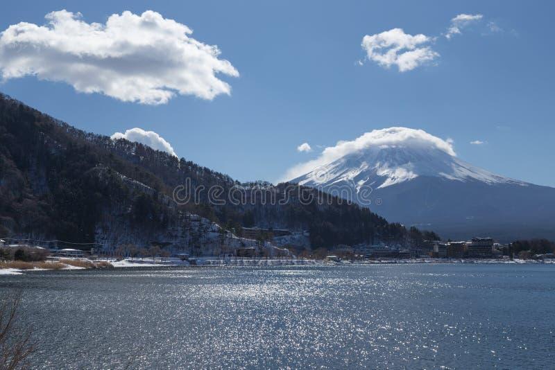 Mt Fuji no inverno, Japão fotos de stock royalty free