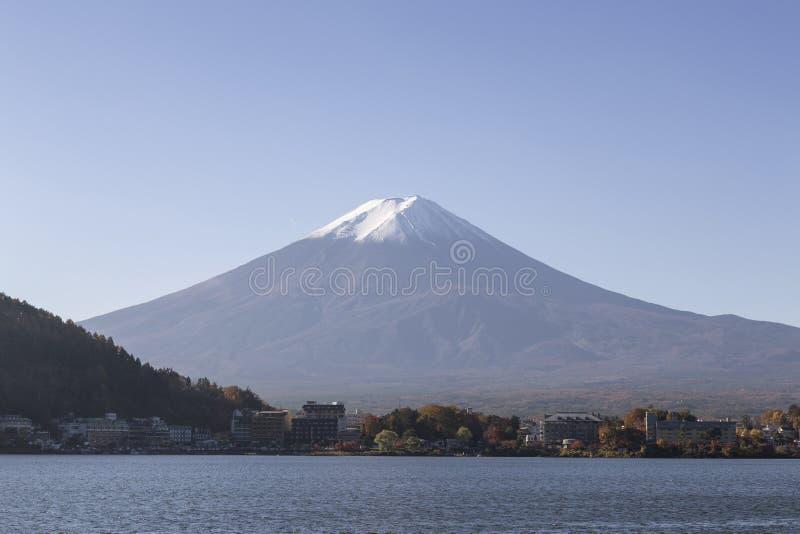 Mt Fuji no outono, Japão fotos de stock