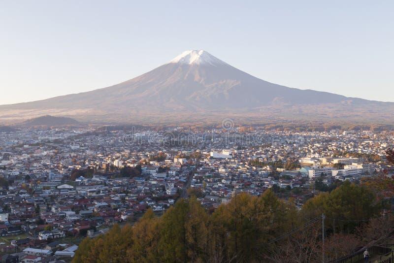 Mt Fuji no outono, Japão fotografia de stock