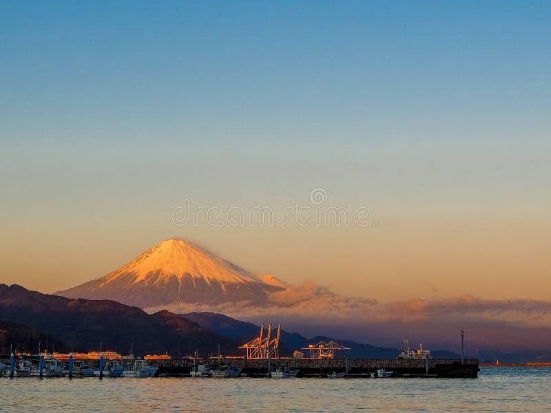 Mt. Fuji from Shizuoka, Japan royalty free stock photos