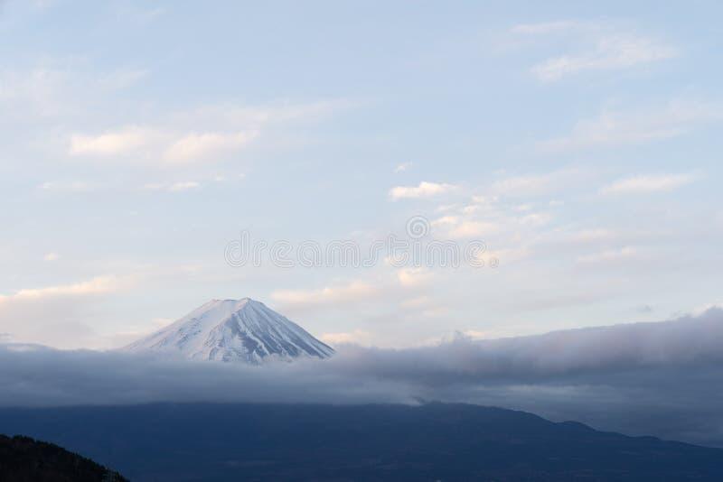 Mt.Fuji Sunrise. Mt.Fuji beautiful dawn sunrise in Kawaguchiko Fujiyoshida town royalty free stock photography