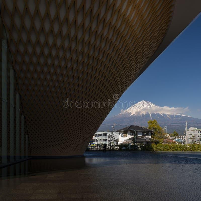 Mt. Fuji World Heritage Centre, Shizuoka, Japan stock images