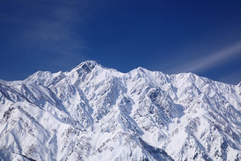 Mt. Goryudake, Nagano Giappone fotografia stock