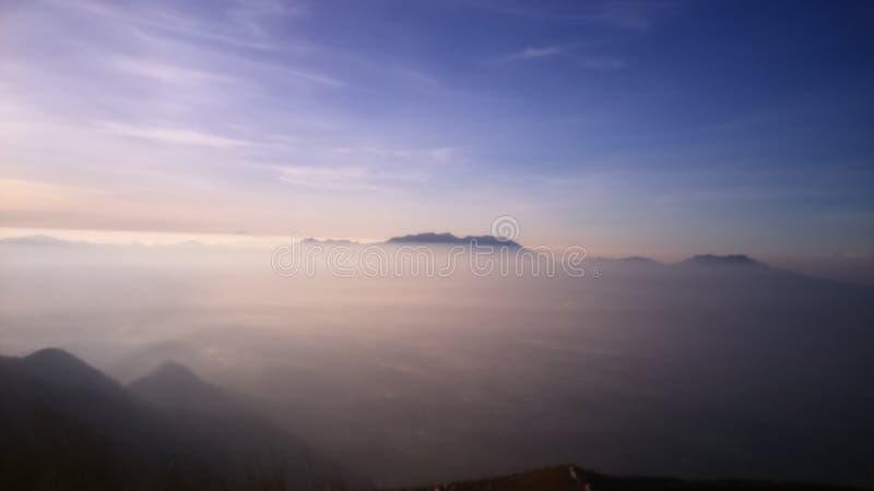 Mt Gutur 免版税库存图片