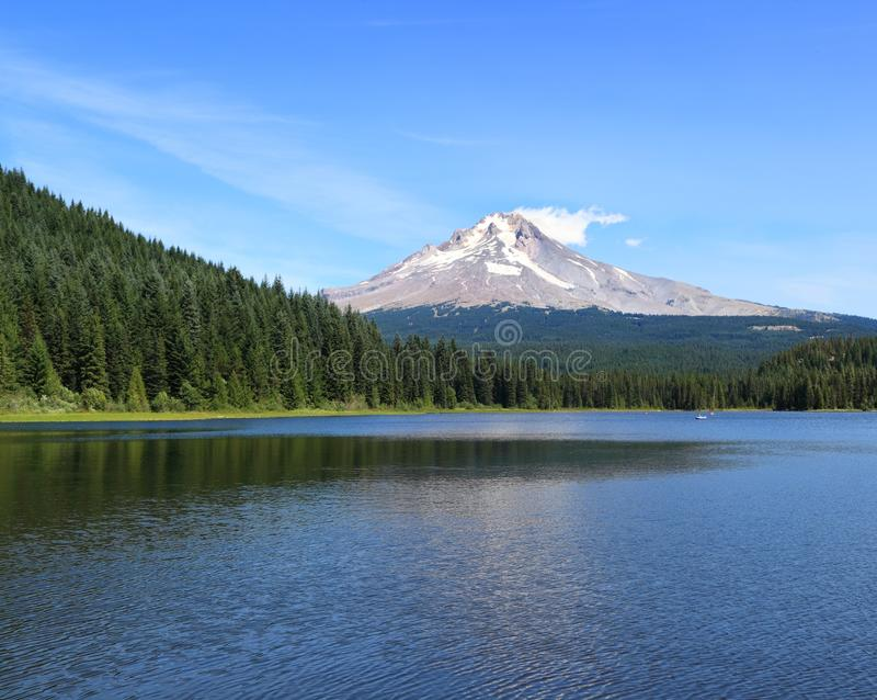 Mt-Haube, Oregon lizenzfreies stockbild