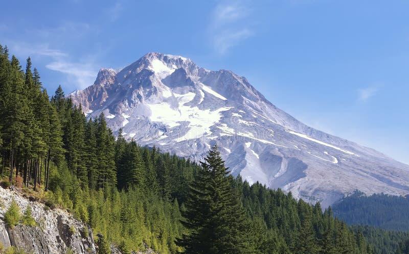 Mt. Haube Oregon am Sommer lizenzfreie stockfotografie