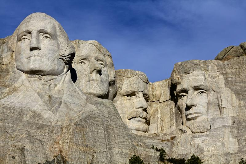 Mt. het Monument van Rushmore, Zuid-Dakota stock fotografie