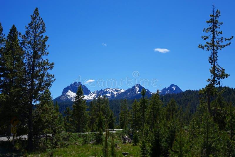 Mt Heyburn - Idaho fotografía de archivo libre de regalías