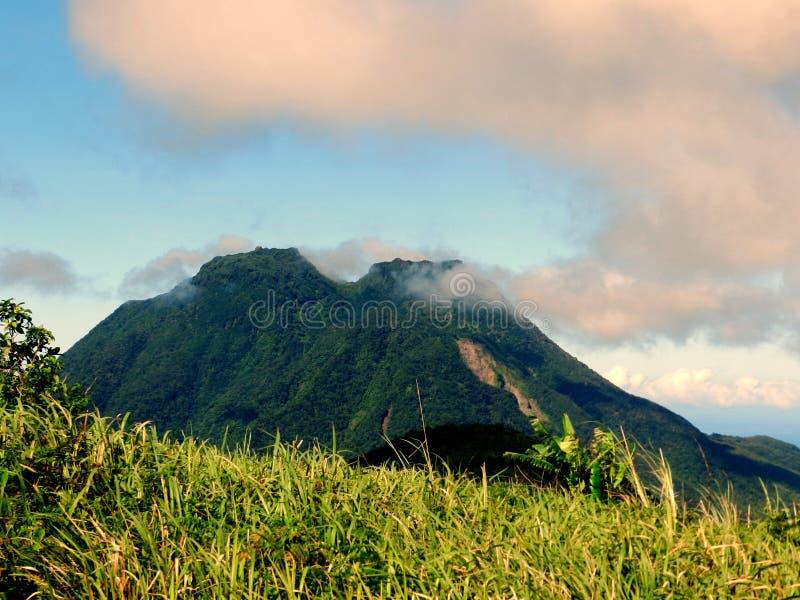 Mt Hibok - Hibok imagen de archivo