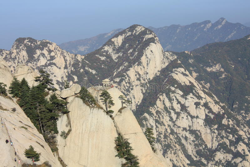 Mt Hua Chess Pavilion stockbild