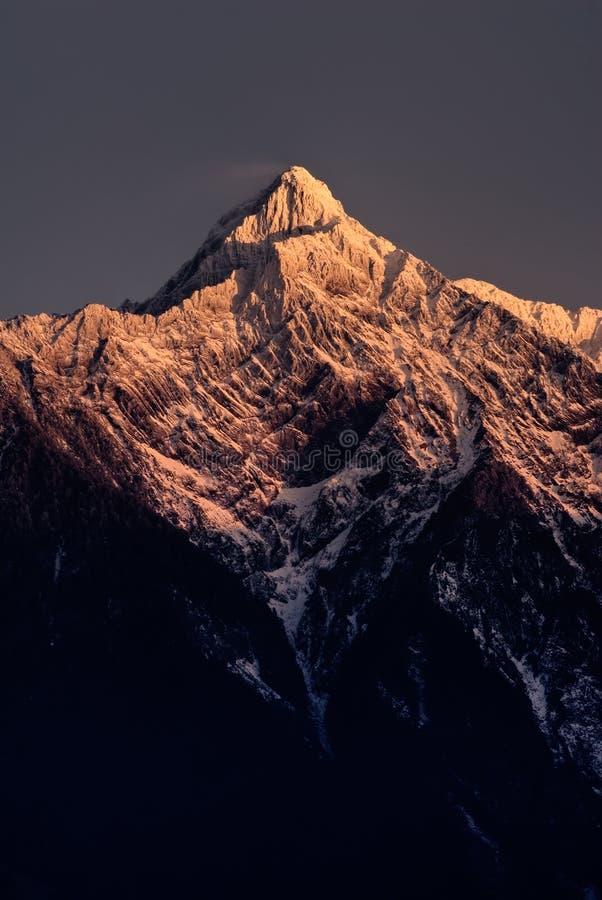Free Mt. Jade Peak In Dawn Stock Image - 12648241