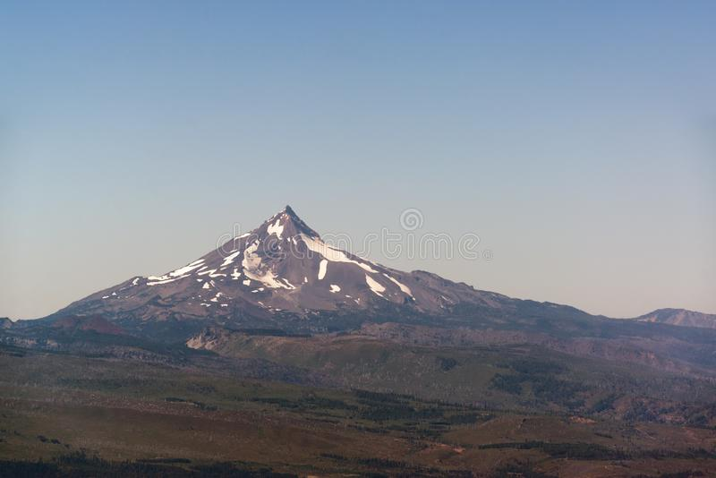 Mt Jefferson widok fotografia stock